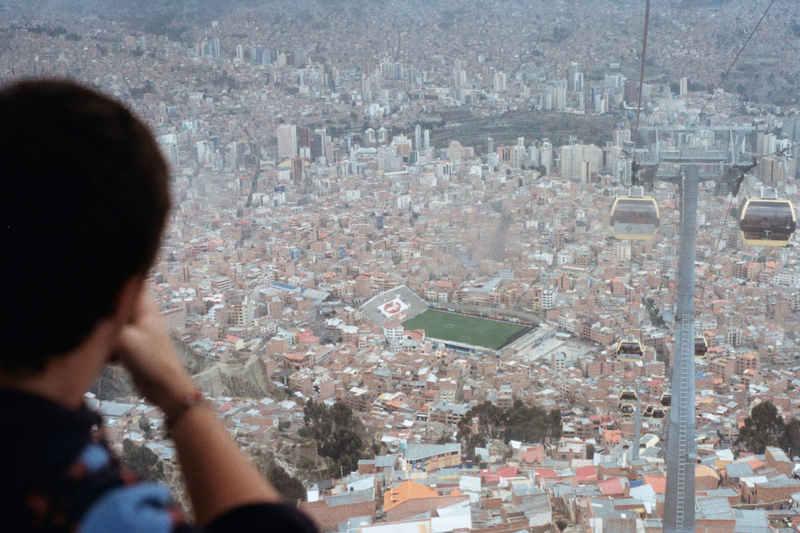L'altro lato del marciapiede - La Paz