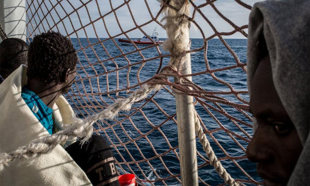 Protezione internazionale - migranti sulla Sea Watch