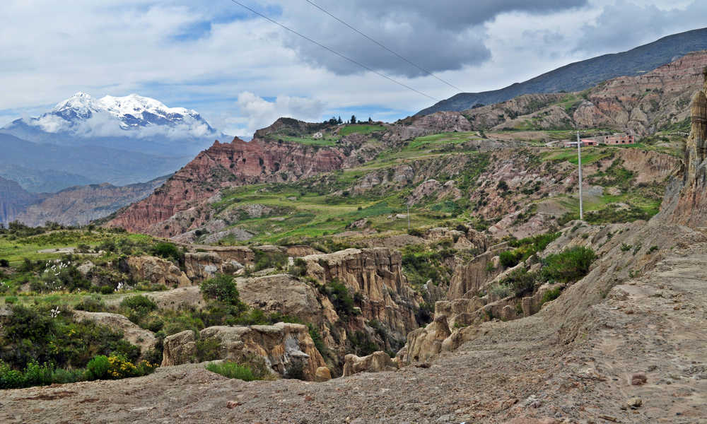Pachamama - Montagna Illimani da La Paz