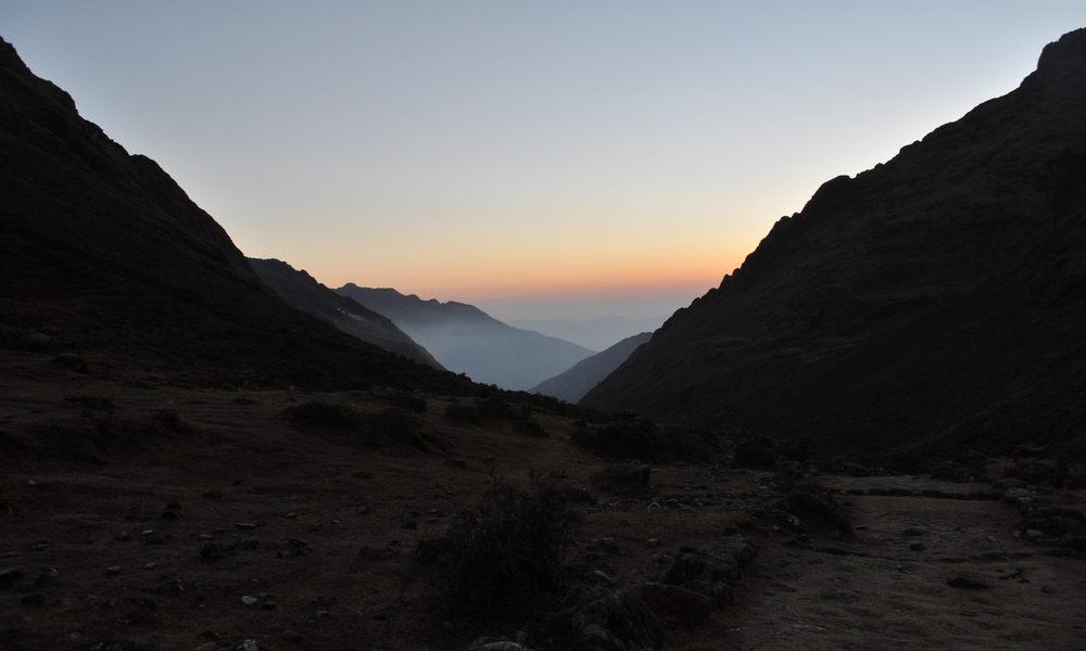 Pachamama - alba dal monte Condoriri
