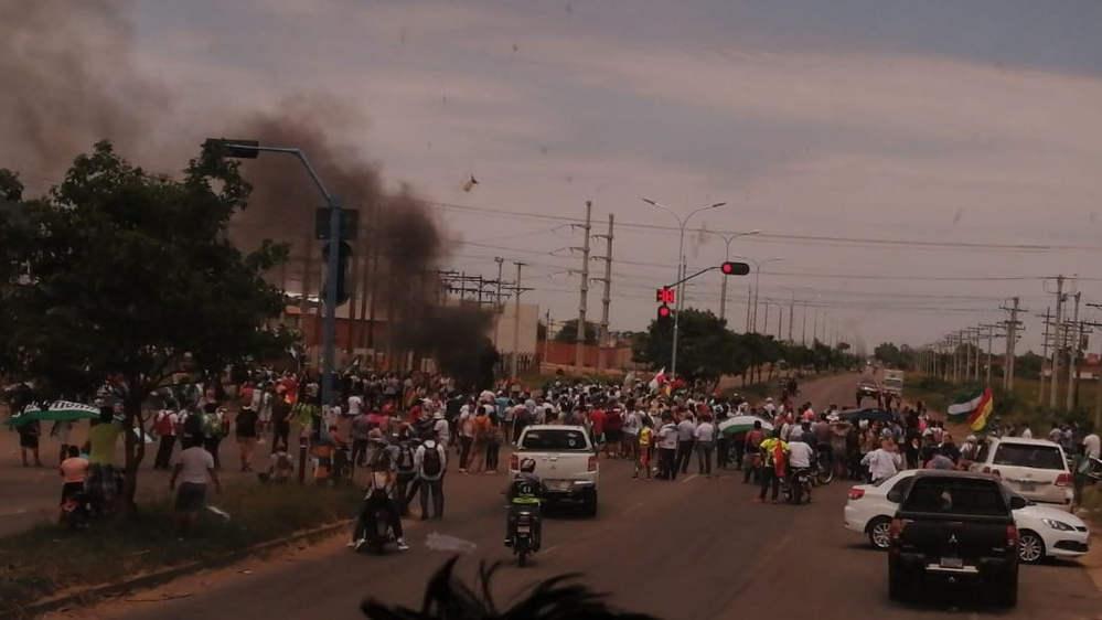 Bolivia nel caos - proteste elezioni