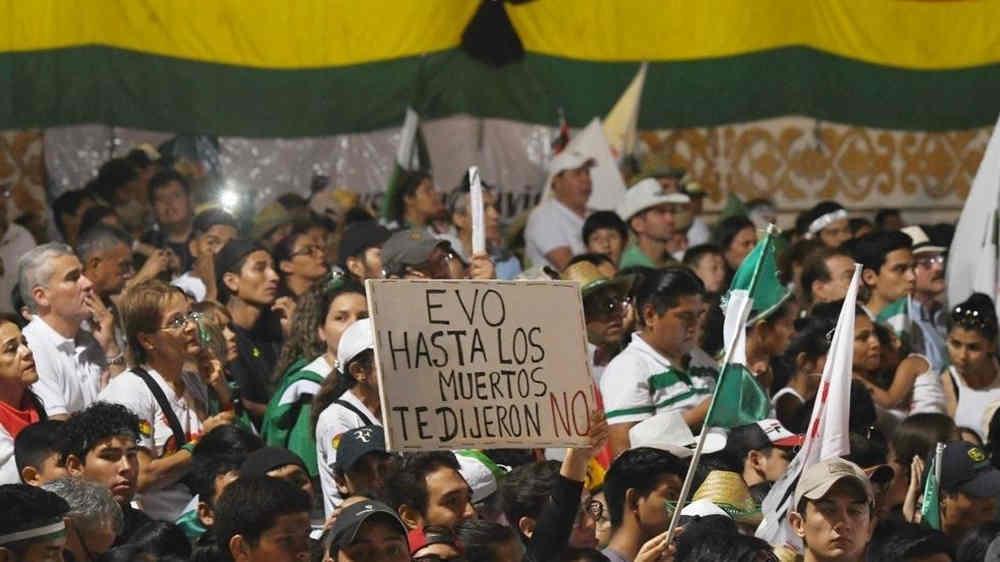 Bolivia - protesta contro Evo Morales