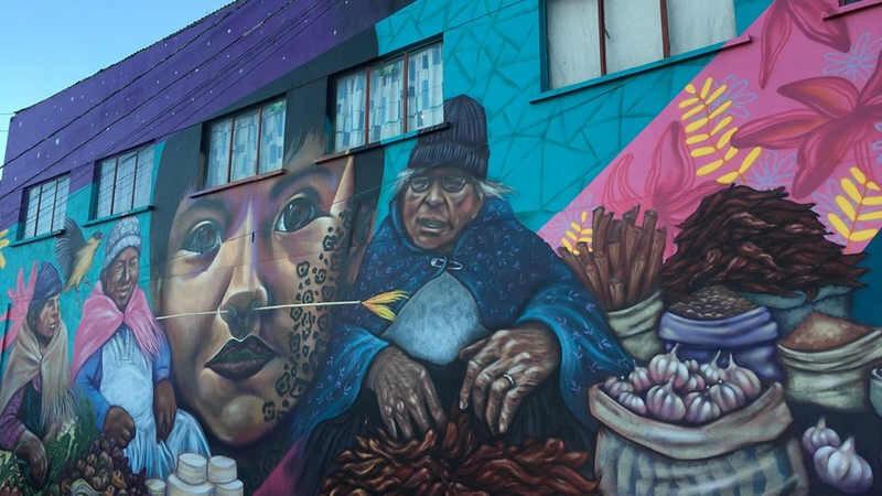 Colori del barrio - La Paz