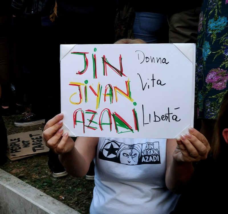 Jin Jiyan Azadi, Donna Vita Libertà - Rojava