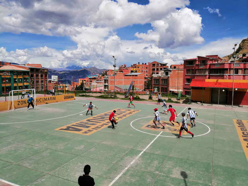 La Paz - campo di calcio
