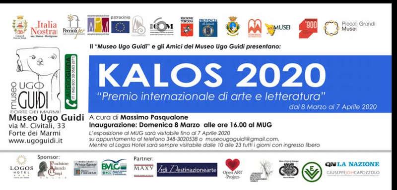 Premio Letterario Kalos 2020 - locandina