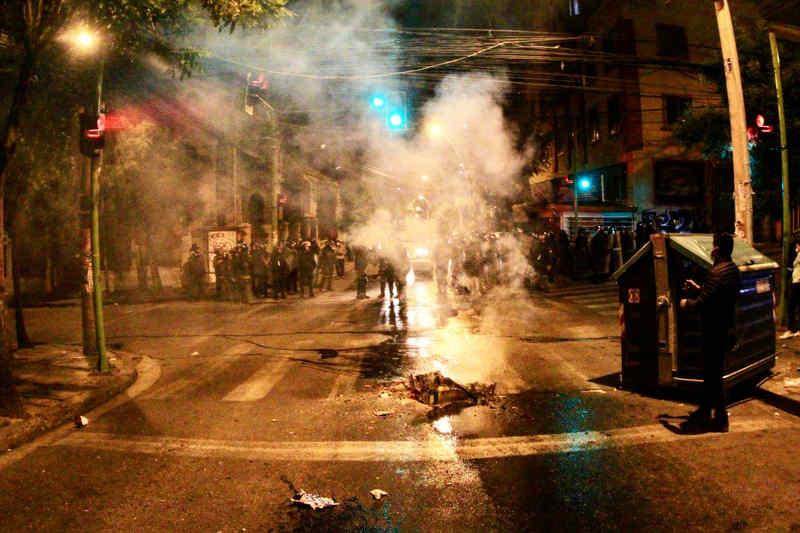 Proteste in Bolivia