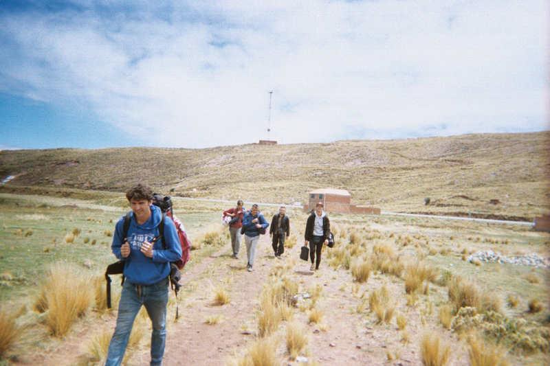 Cuzco Calling - passaggio lago Titicaca