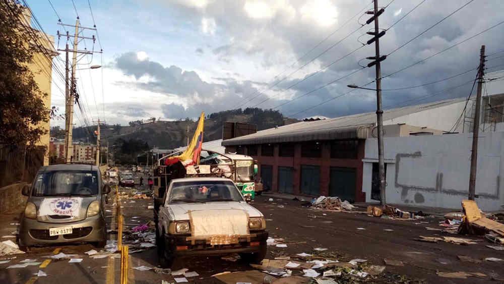 Ecuador - Quito 13 ottobre