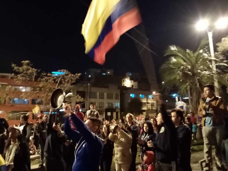 Ecuador - Quito proteste
