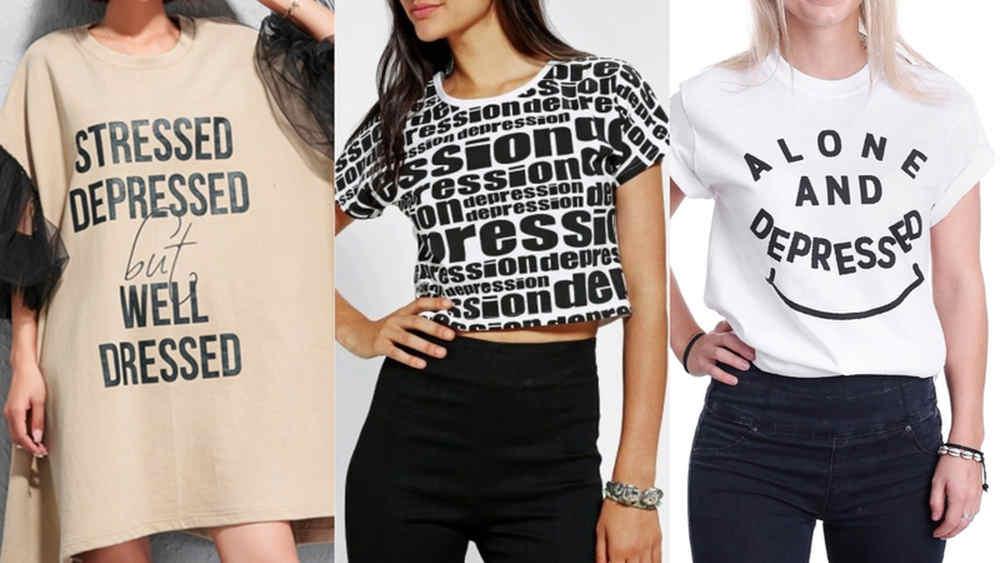 La depressione non è la tua estetica - tshirt