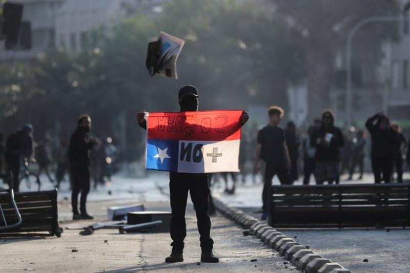 Santiago del Cile - proteste