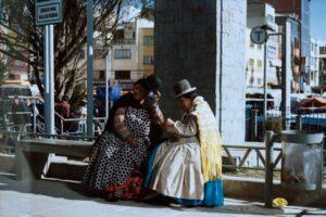 Cholitas di El Alto