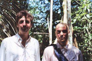Guglielmo e Nicola nella giungla nei pressi di Rurrenabaque, Bolivia.