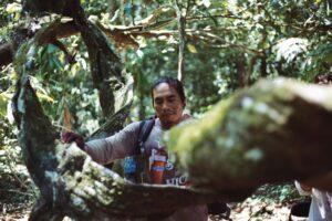Chapo nella giungla del Beni, casa dalla nascita.