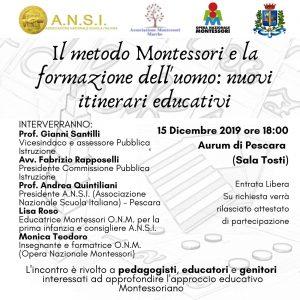 Evento Montessori a Pescara.