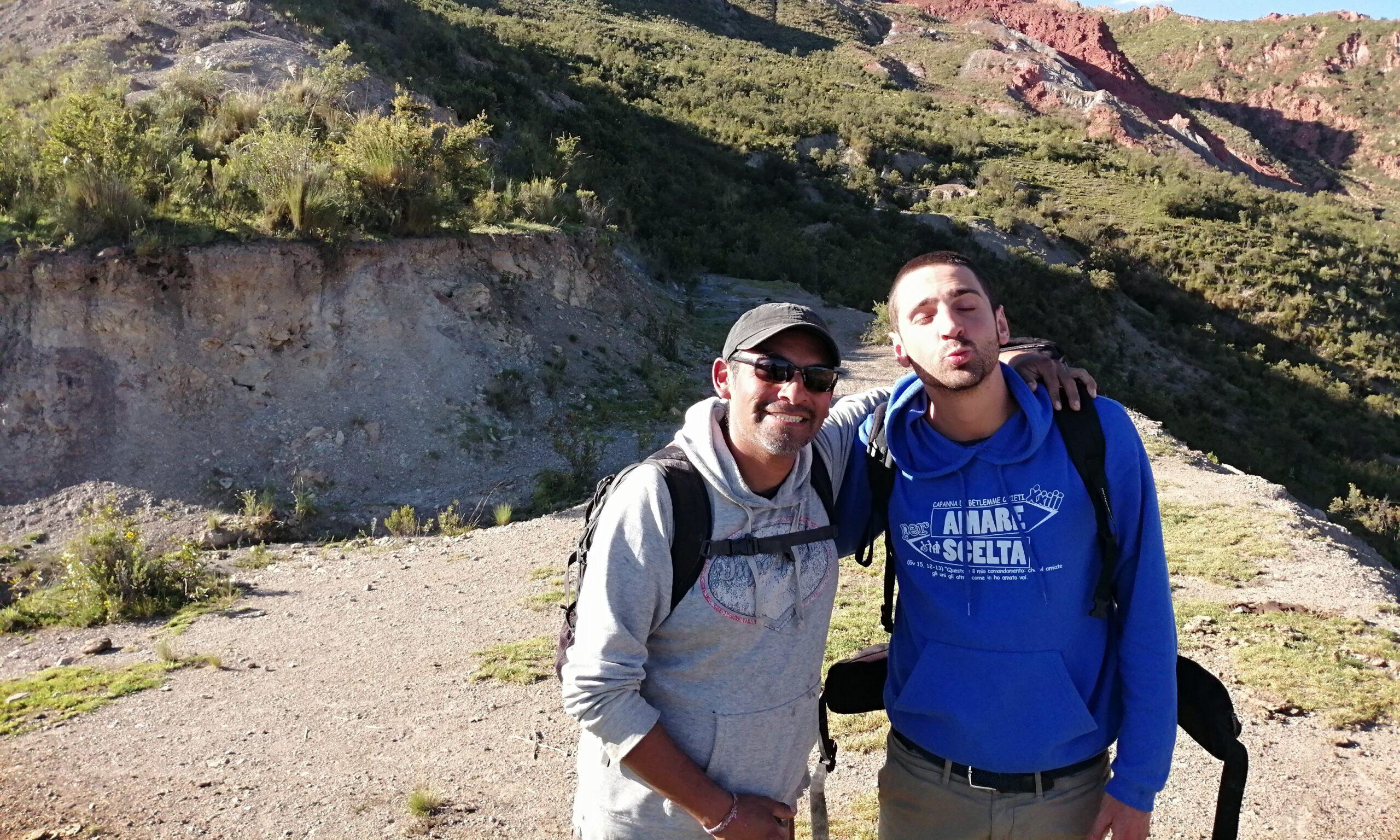 Juanco e Guglielmo in Bolivia