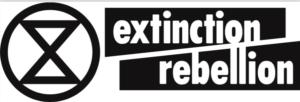 Il logo di Extinction Rebellion.