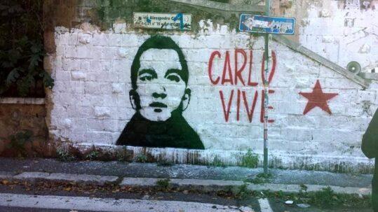 Carlo Giuliani - murales Garbatella