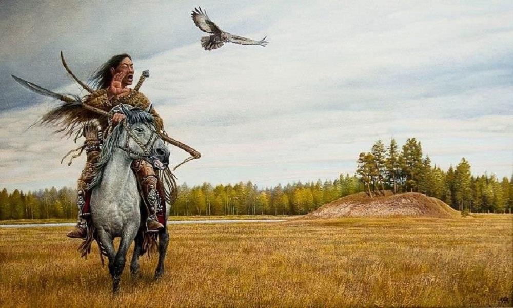 Jakuti - Jakuto a cavallo