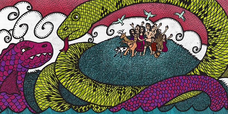 Rappresentazione grafica di Cai Cai e Teng Teng
