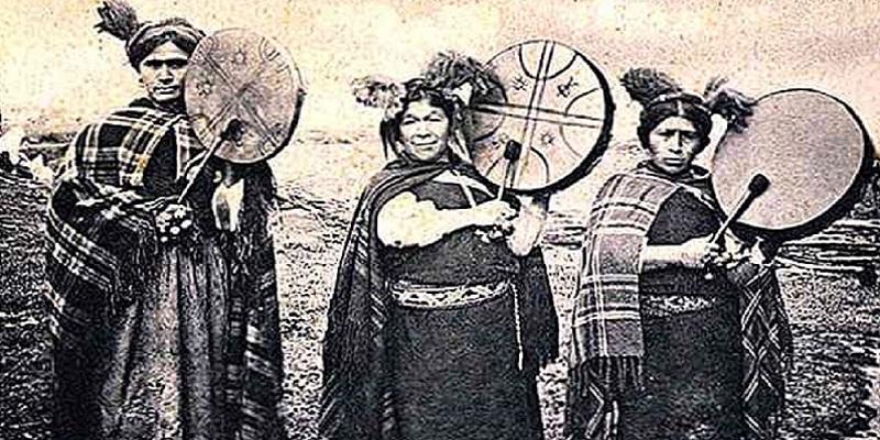 Foto storica dei Mapuche