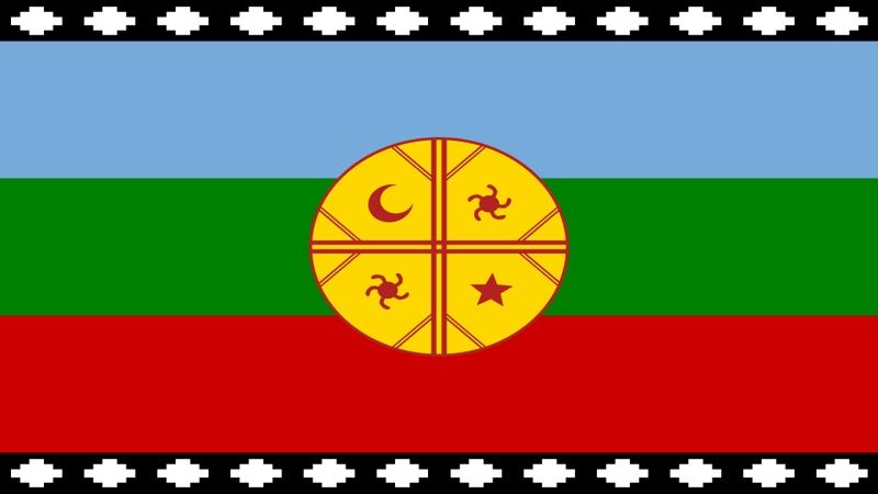 Mapuche - bandiera