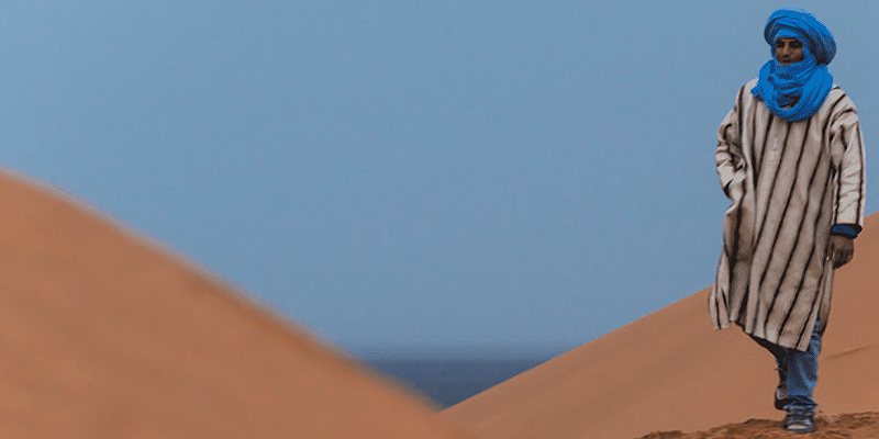 Il deserto e il Tuareg