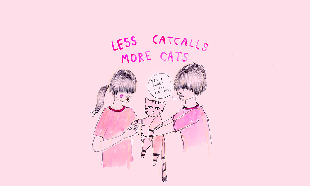 Less Catcalls more cats