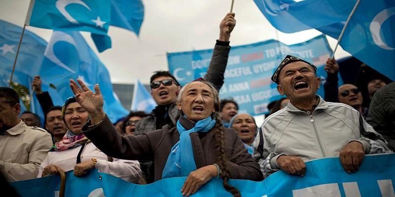 Protesta uigura