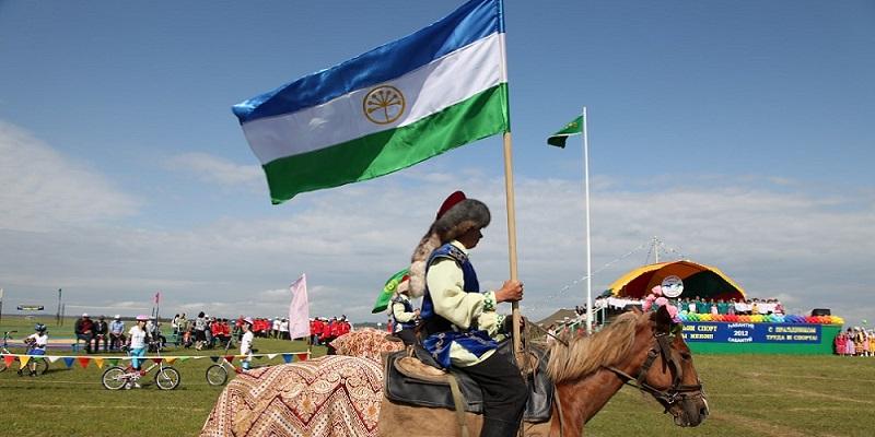 Baschiro e bandiera