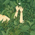 Da bambina ero una strega - ragazza nella foresta