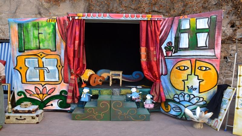 Teatro Verde a motore - teatro verde