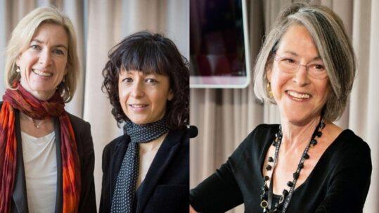 Donne che fanno cose - Emmanuelle Charpentier, Jannifer Doudna e Louise Gluck