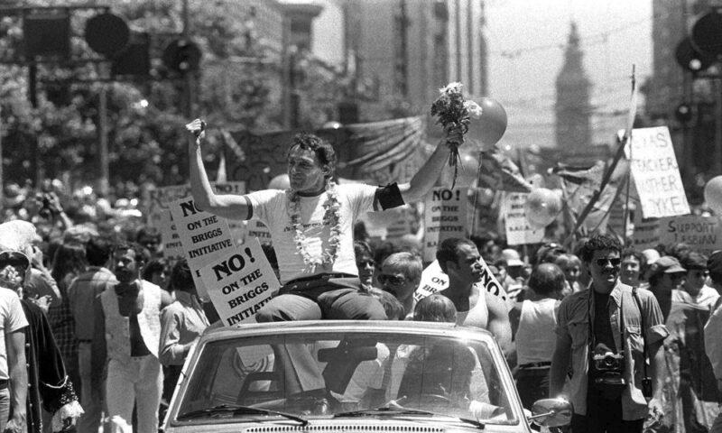 Harvey Milk - gay rights