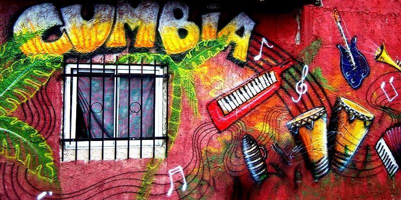 Graffito Cumbia