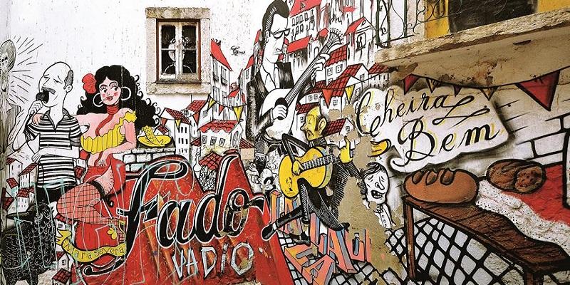 Graffiti a Lisbona