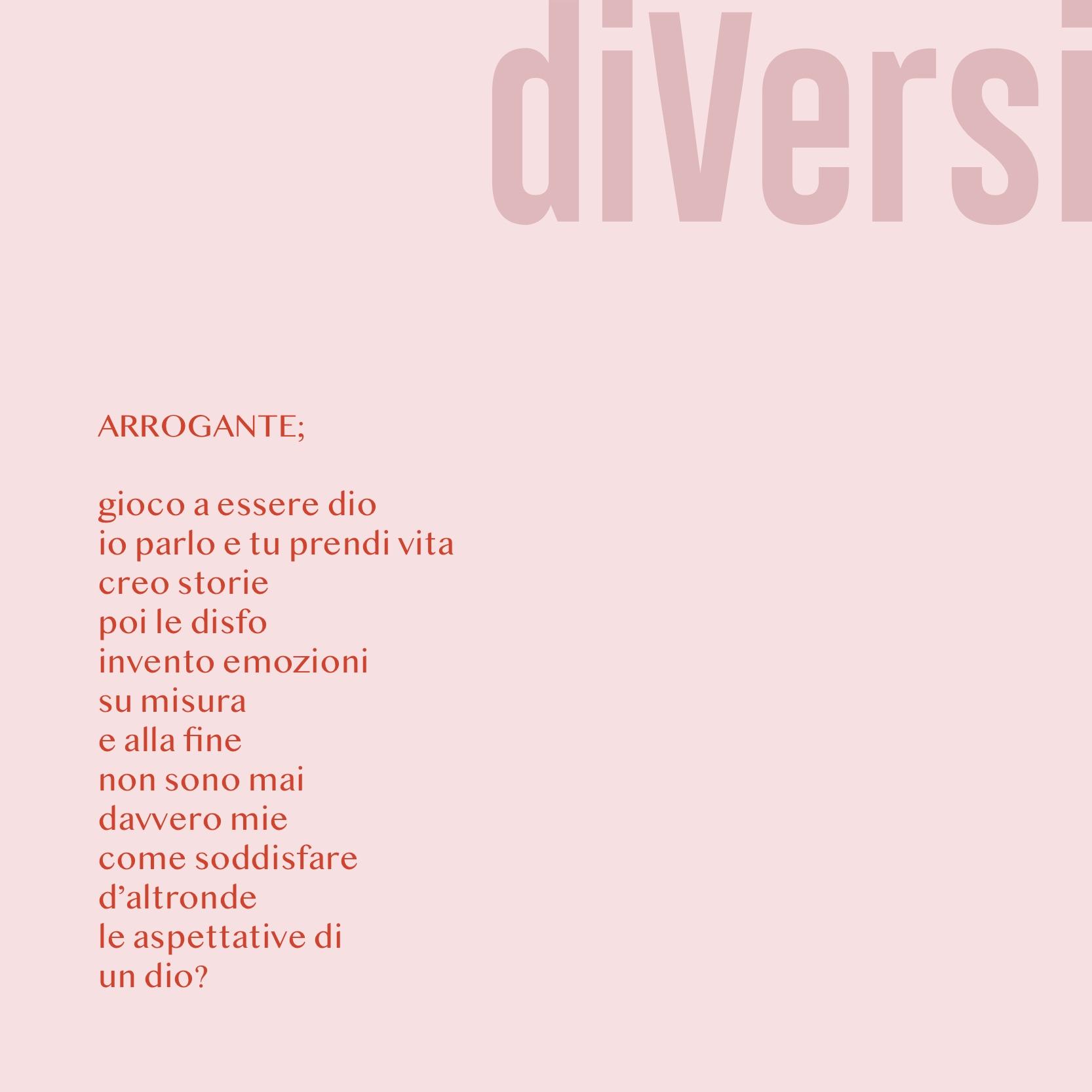 arrogante diversi