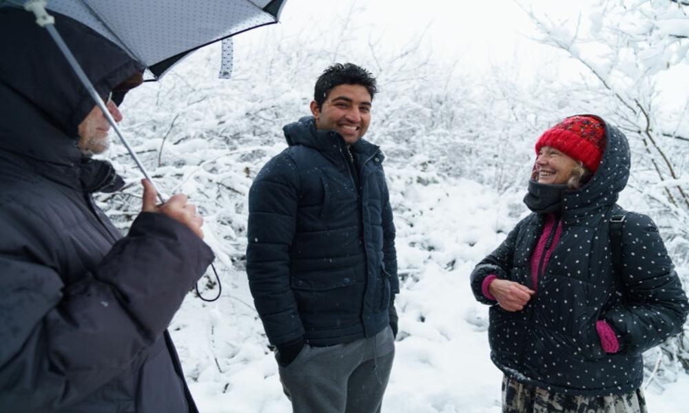 Gian Andrea Franchi e Lorena Fornasir - aiuto ai migranti