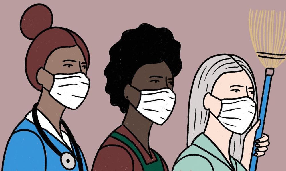 la cura siamo noi - illustrazione di Sheyda Sabetian