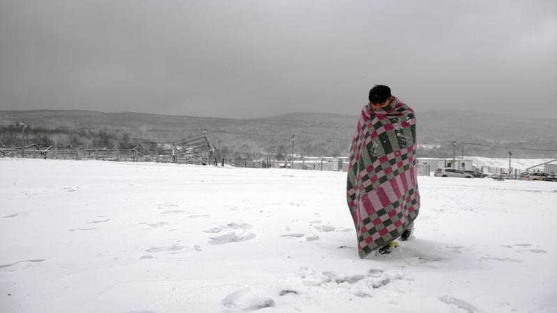 migranti - campo di lipa, bosnia