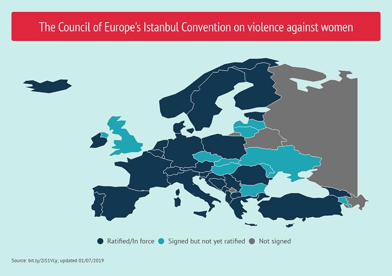 Convenzione di Istanbul - Paesi membri