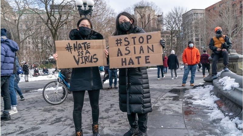 Stop Asian Hate - manifestazione negli USA