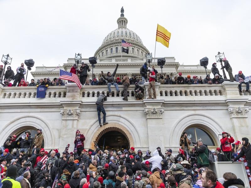 Suprematismo bianco USA - attacco a Capitol Hill