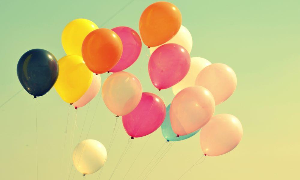 il panico e l'età - palloncini