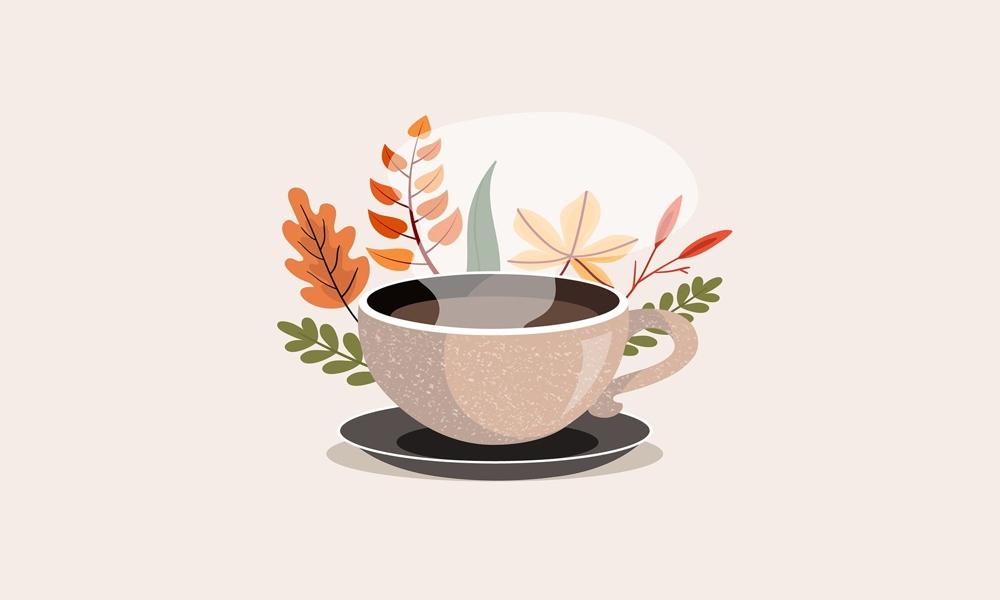 Il panico e il fare fare fare - illustrazione tazzina di caffè